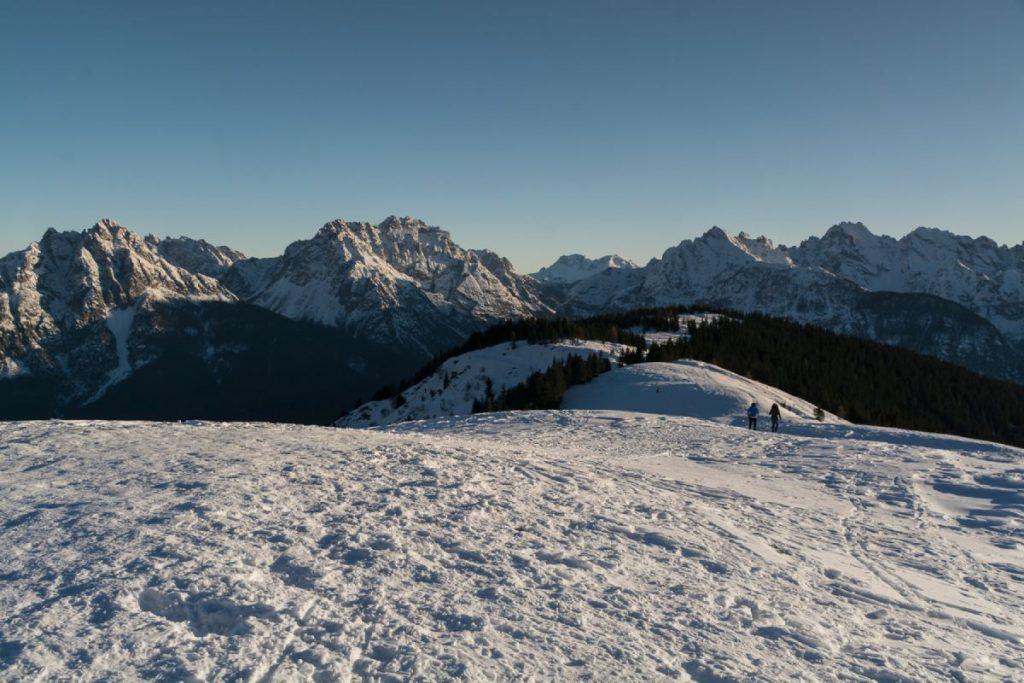 Vista dalla cima del Monte Zovo