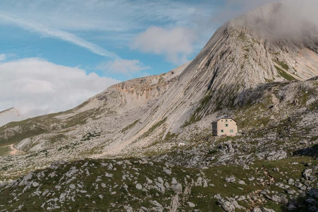 Tappa 1 Altavia: il rifugio Biella