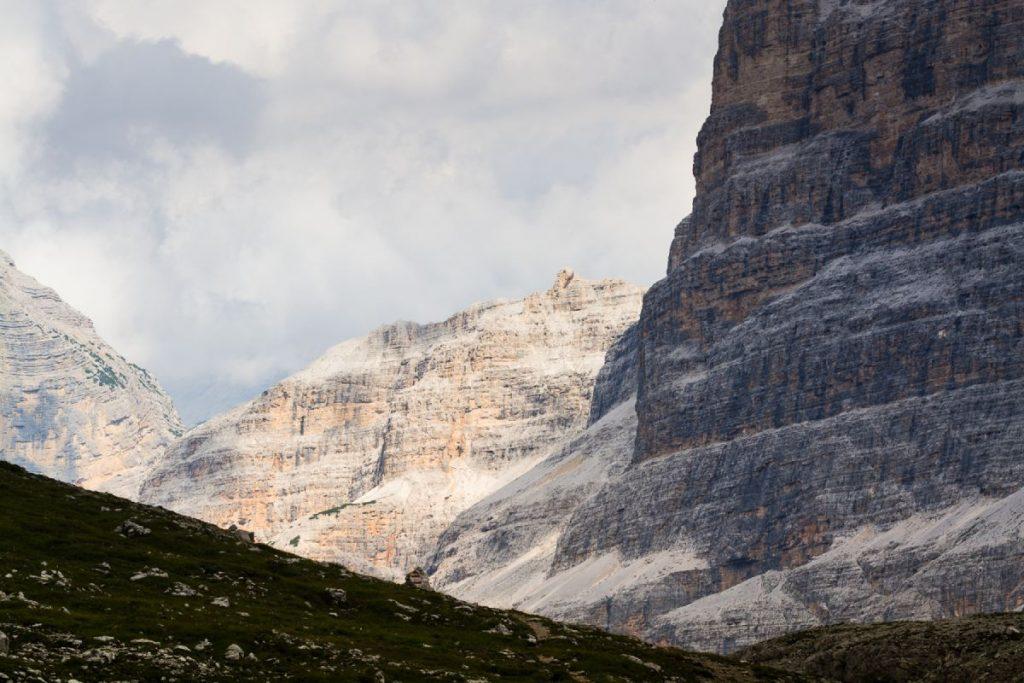 Tofane all'imbocco della Val Travenanzes