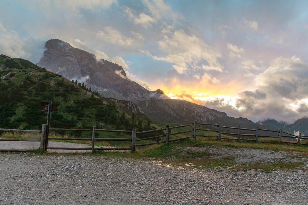 Tramonto al Rifugio Vallandro