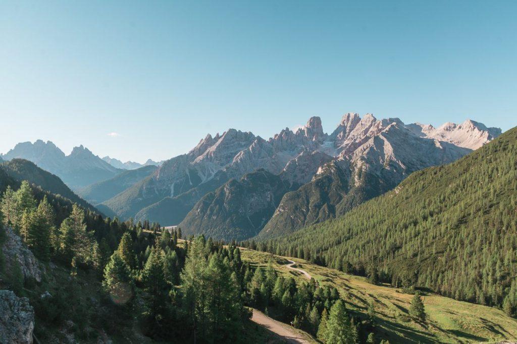 Panorama dell'altopiano di Pratopiazza