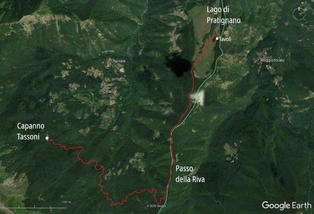 Lago Pratignano Earth
