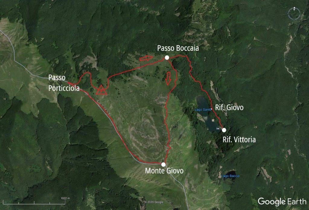 Monte Giovo Earth