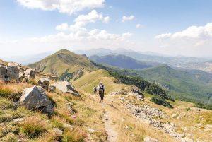 Sentiero per il Monte Giovo