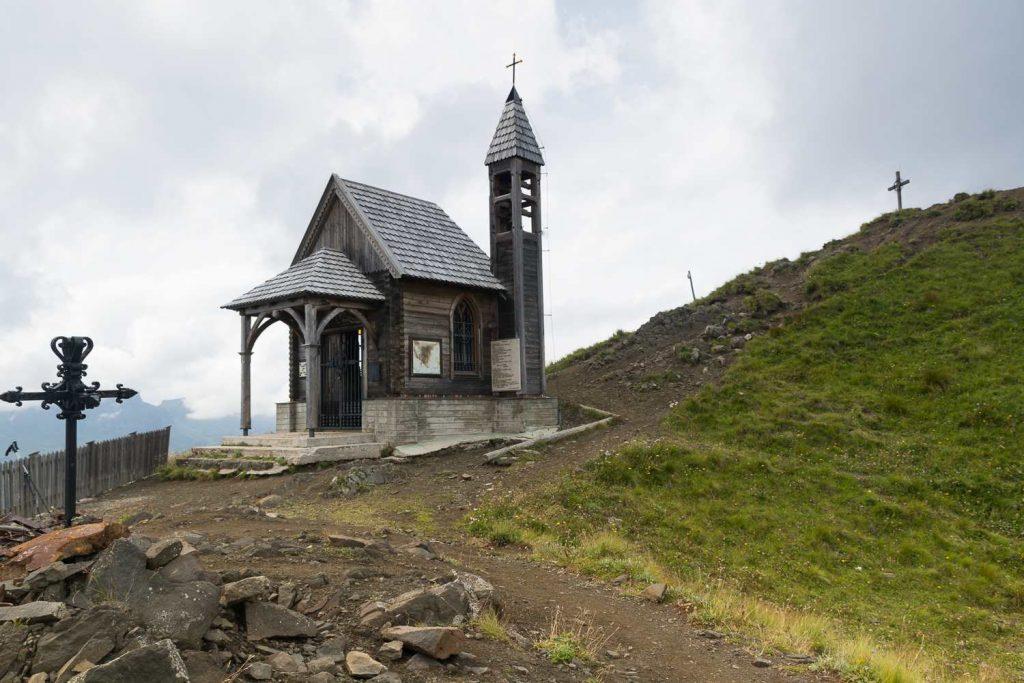 Chiesetta degli Alpini sul Col di Lana