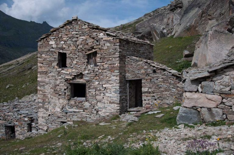 Case nei piani del Nivolet