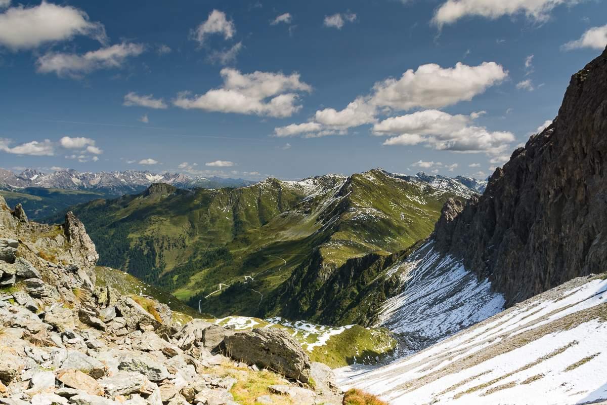 Passo di Cima Vallona: Austria