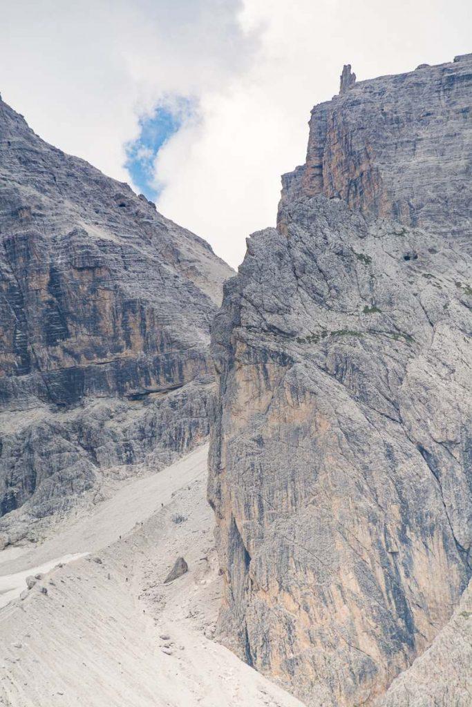Vallon Popera al Passo della Sentinella