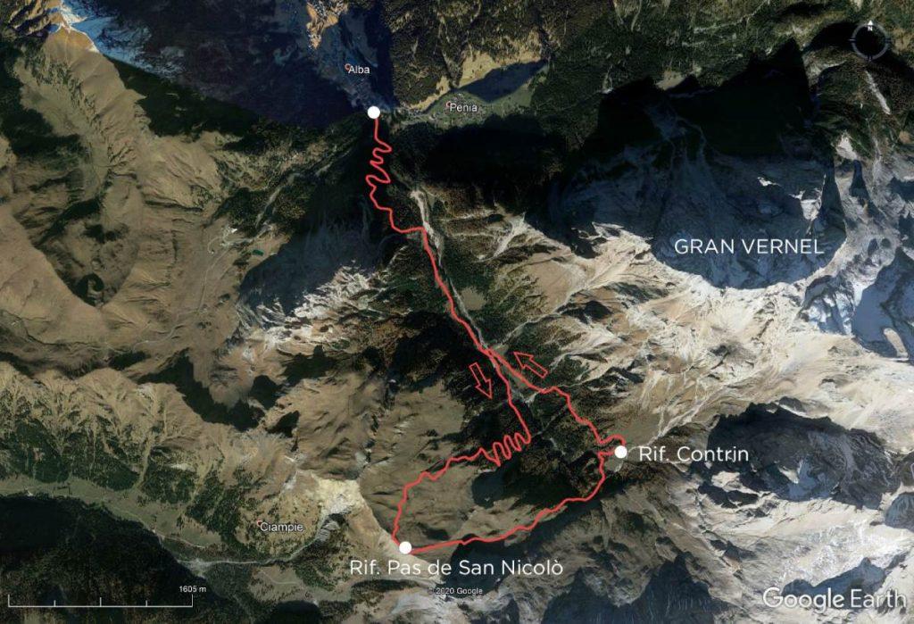 Passo San Nicolò Earth
