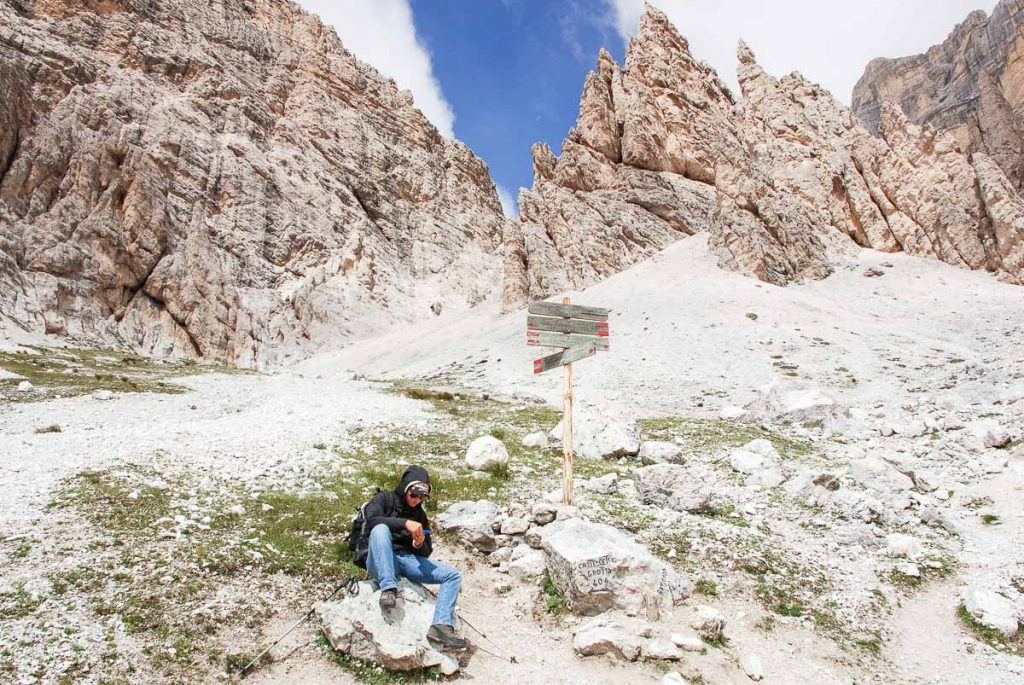 Rifugio Giussani - sul sentiero