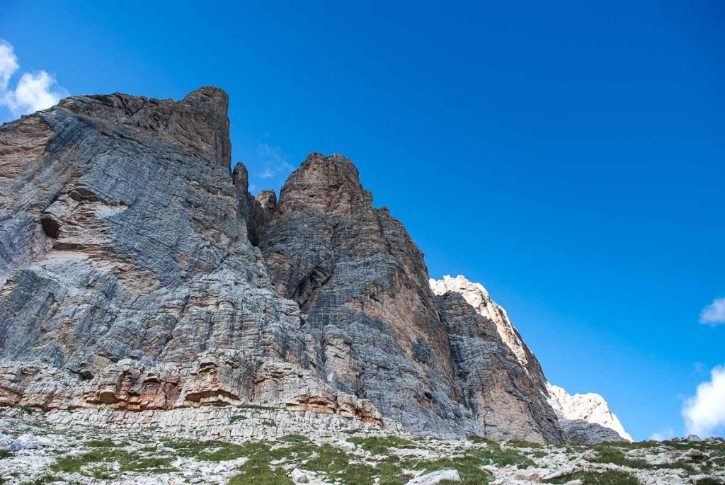 Rifugio Giussani - sentiero per il Castelletto