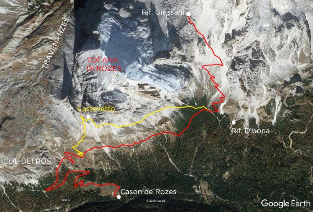 Rifugio Giussani Earth