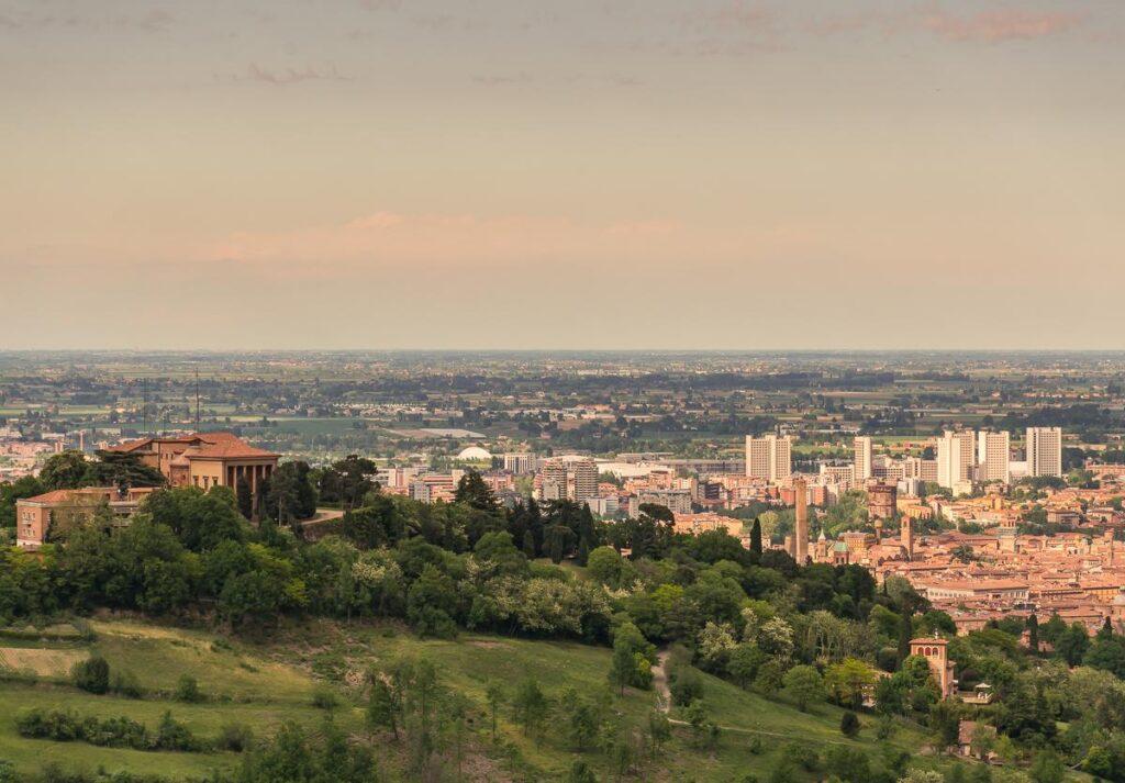 Villa Aldini e Bologna