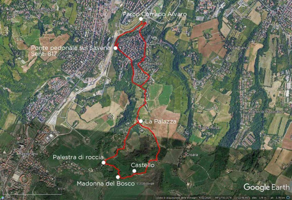 Colli bolognesi: Parco dei Gessi Earth